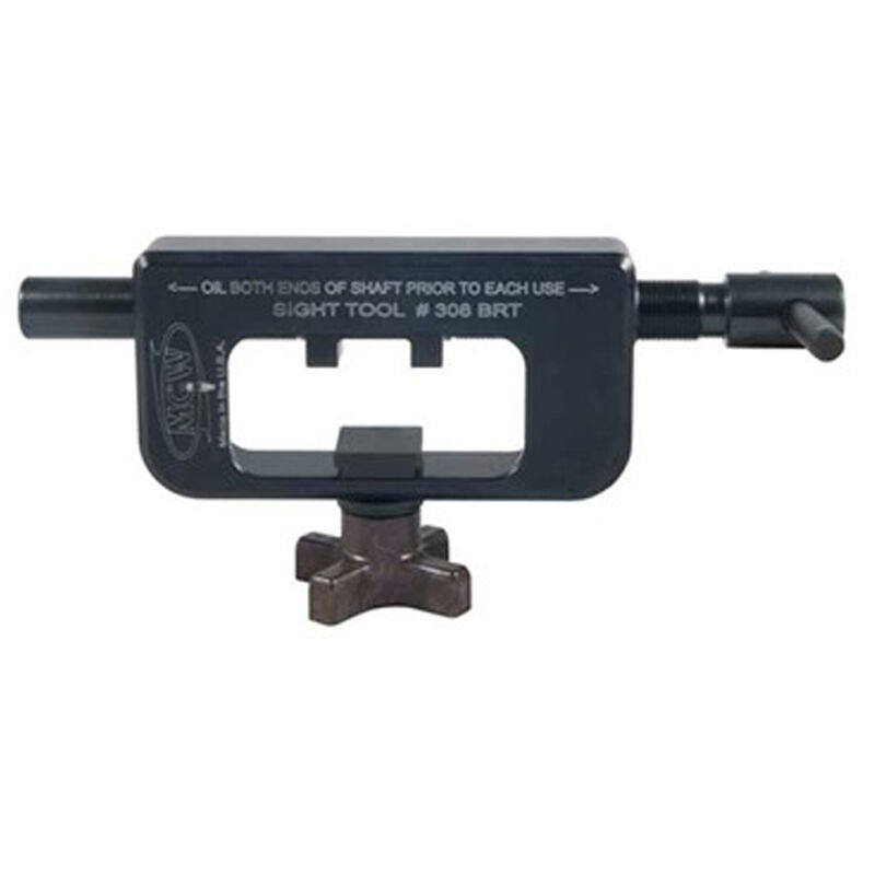MGW GLOCK Sight Mover for Sights with Angled Sides, Matte Black