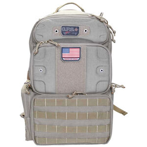 "G. Outdoors G.P.S. Tactical Range Backpack ""Tall"" Tan"