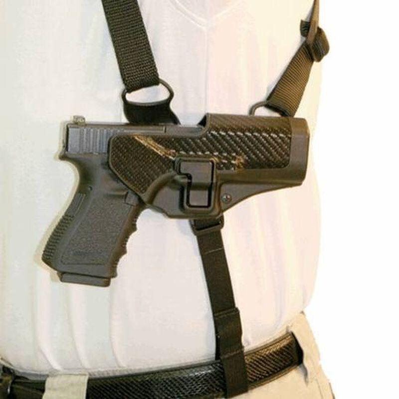 BLACKHAWK! CQC Serpa Shoulder Harness Platform, Size Large, Left Hand