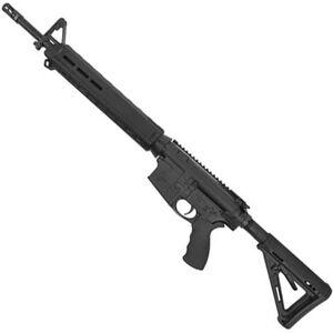 "Del-Ton Echo AR-308 Semi Auto Rifle .308 Win 18"" Heavy Barrel 20 Rounds Magpul M-LOK Handguard MOE Collapsible Stock Black"