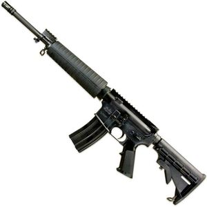 "Windham Weaponry SRC-MID 5.56 NATO AR-15 Semi Auto Rifle 30 Rounds 16"" Barrel Mid-Length Black"
