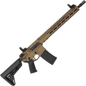 "Barrett REC7 DI AR-15 Semi Auto Rifle .300 BLK 16"" Barrel 30 Round Magazine Gas Impingement System Enhanced M-LOK Hand Guard 6-Position Stock Cerakote Tungsten Burnt Bronze Finish"