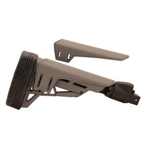 Saiga TactLite Elite Six Position Adjustable Stock with Scorpion Recoil Pad Destroyer Gray
