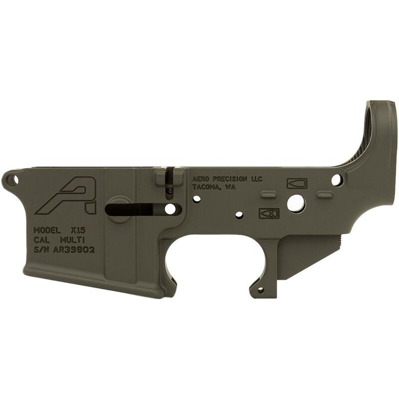 Aero Precision AR-15 Gen 2 Stripped Lower Receiver .223/5.56 Aluminum OD Green