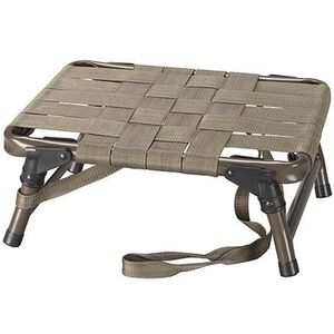 Hunter's Specialties Strut Strut Seat Chair Aluminum Frame Olive Drab Nylon Seat
