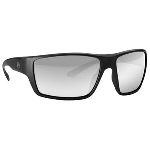 Magpul Terrain Eyewear Gray/Silver Mirror Polycarbonate Lens Z87+ and MIL-PRF 32432 Rated TR90NZZ Frame Black