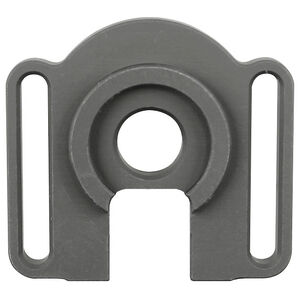 Midwest Industries Mossberg 500/590 End Plate Adapter Ambidextrous Slotted Sling Mount Aluminum Black