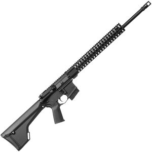 "CMMG MK4 P AR-15 Semi Auto Rifle .224 Valkyrie 20"" Stainless Steel Threaded Barrel 10 Rounds Free Float Keymod Handguard MOE Rifle Stock Black"