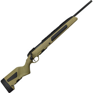 "Steyr Scout .308 Win Bolt Action Rifle 19"" Fluted Barrel 1/2x20 Threads 5 Round Detachable Magazine Weaver Rail Bipod Synthetic Mud Stock"