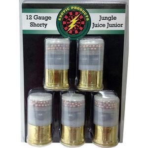 "Exotic Shorty Jungle Juice 12 Gauge Mini Ammunition 5 Rounds 1.75"" #000 Buck/#7.5 Bird 00515"