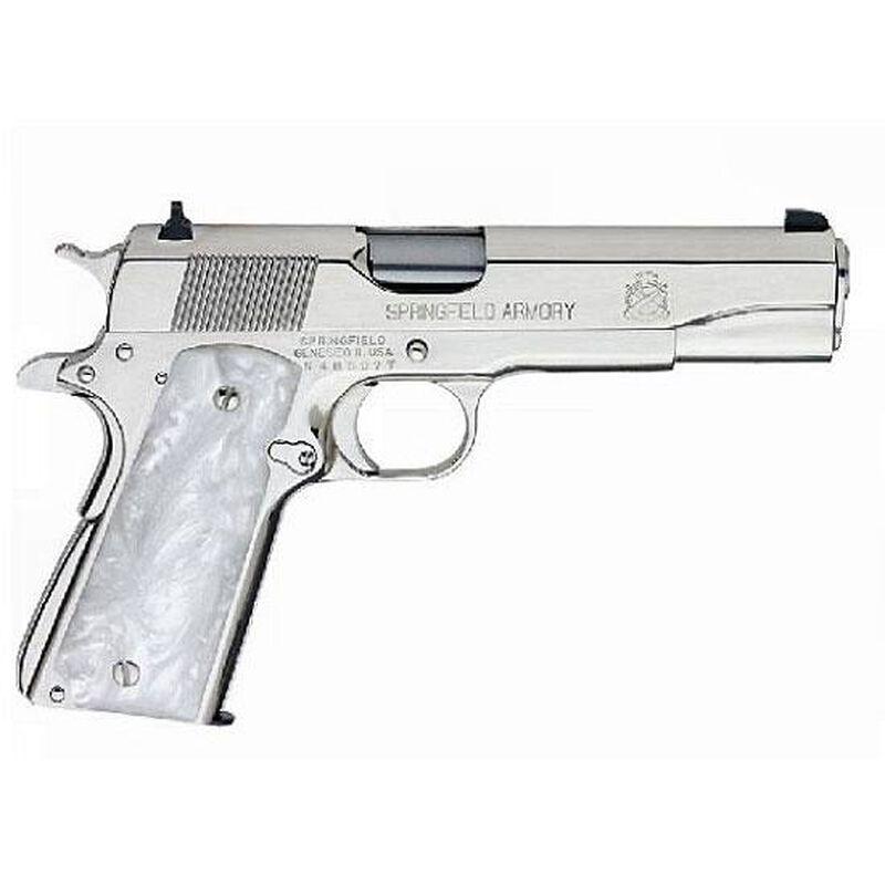 Springfield Armory 1911 Mil-Spec Semi-Automatic Handgun  38 Super 5