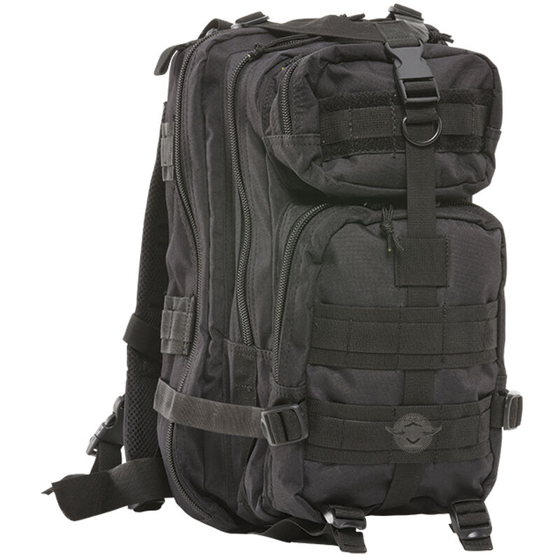 """5ive Star Gear 3TP-5S Level-III Transport Backpack 18""""x10""""x9.5"""" MOLLE Compatible Hydration Ready Synthetic Fabric Black 6196000"""