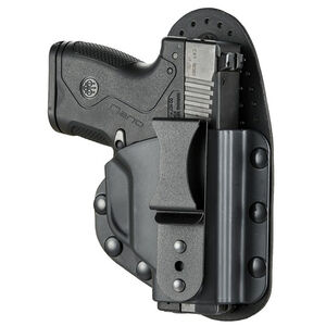 Beretta Mod. S for BU9 NANO IWB Holster Tuckable Right Hand Hybrid Kydex/Leather Black