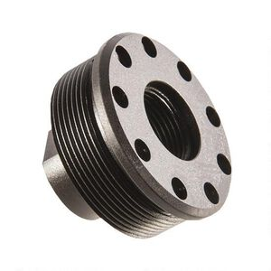 SilencerCo Harvester Direct Thread Mount 9/16x24 Thread Pitch Steel Matte Black