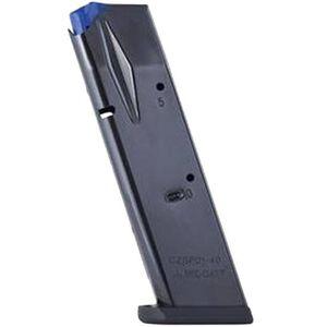 Mec-Gar CZ 75B//SP-01 Magazine .40 S&W 10 Rounds Steel Blued MGCZ4010B