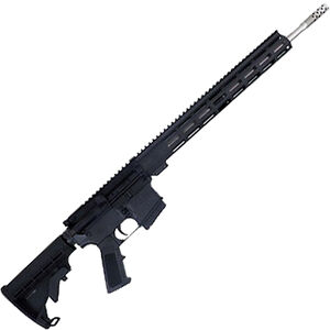 """Great Lakes .350 Legend AR-15 Semi Auto Rifle 18"""" Stainless Barrel 5 Rounds 15"""" Free Float M-LOK Handguard Collapsible Stock Black Finish"""