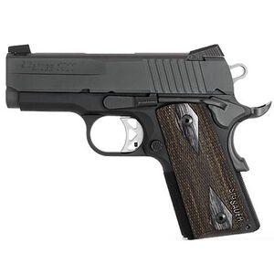 "SIG Sauer 1911 Ultra Semi Automatic Pistol .45 ACP 3.3"" Barrel 7 Round Capacity Blackwood Grips Nitron Finish 1911U-45-BSS"