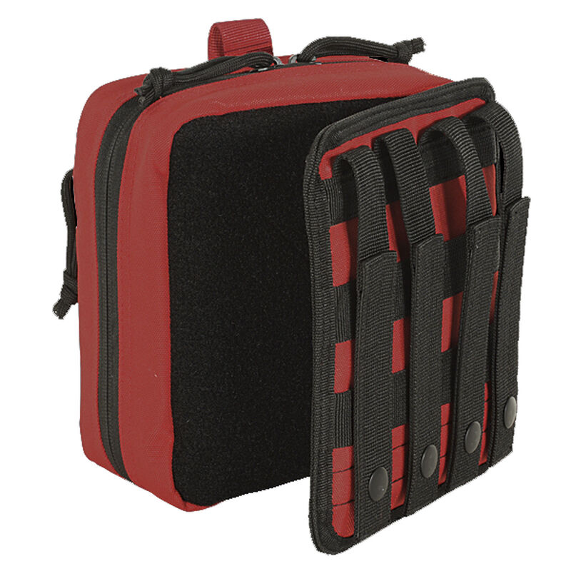 Voodoo Tactical Rip-Away Medic Pouch MOLLE Compatible Nylon Red