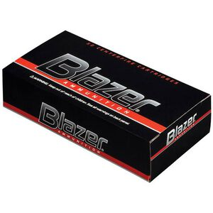 CCI Blazer .38 Special +P Ammunition 50 Rounds 158 Grain FMJ 850 fps