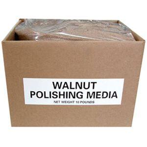 Polishing Media Walnut Polishing Media 10 lb Box Brown