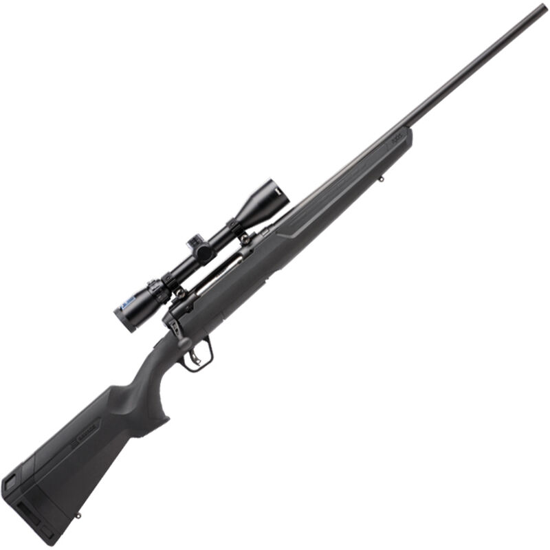 """Savage Axis II XP Package Bolt Action Rifle .22-250 Rem 22"""" Barrel 4 Rounds with 3-9x40 Scope Matte Black Finish"""
