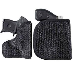 DeSantis M44 Glock 36, 17, 22, 31, 19, 23, 32, Ruger SR9, Colt Defender Super Fly Pocket Holster Ambidextrous Nylon Black M44BJB2Z0
