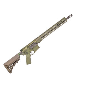 "Geissele SD556 Super Duty Rifle 5.56 NATO Semi Auto Rifle 16"" Barrel 15"" M-LOK Handguard SSA-E X Trigger OD Green"