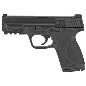 "S&W M&P9 M2.0 4"" Compact Thumb Safety 9mm Luger Semi Auto Pistol 10 Rounds Black"