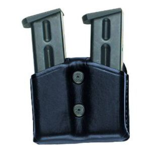 Aker Leather Carry Comp II Magazine Pouch Leather Black