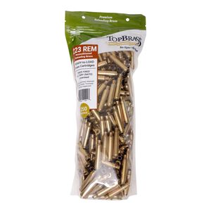 Top Brass .223 Remington Reconditioned Brass 250 Count Bag