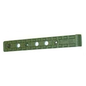 FAB Defense AR-15 Universal Picatinny Rail Bolts onto Standard Plastic Handguard OD Green