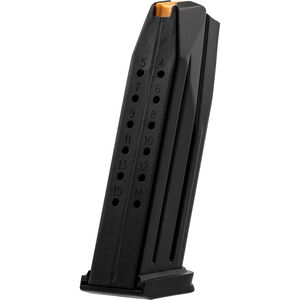 FNH USA FN 509M Midsize 15 Round Magazine 9mm Luger Stainless Steel Construction Matte Black Finish