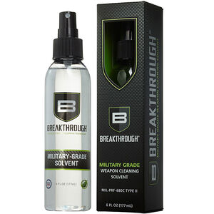 Breakthrough Clean Technologies Military Grade Solvent One 6 oz Spray Bottle