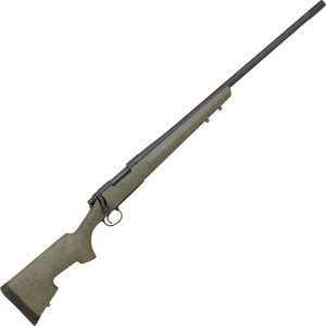 """Remington Model 700 XCR Long Range Tactical Bolt Action Rifle .308 Winchester 26"""" Barrel 4 Rounds Bell & Carlson Tactical Stock OD Green & Black Webbing"""