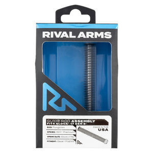 Rival Arms Guide Rod For GLOCK 17 Gen 5 Models Tungsten Guide Rod Stock GLOCK Spring Weight
