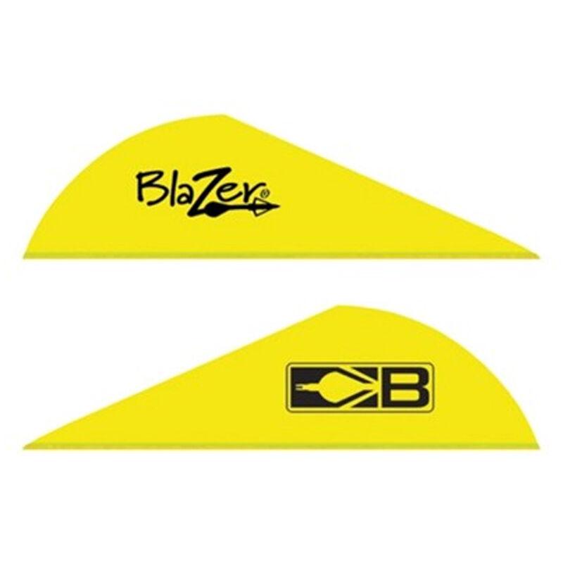 """Bohning 2/"""" Blazer Vanes Neon Yellow 100 Pack"""
