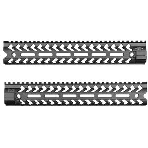 "YHM AR-15 SLM 12.25"" Free Float Hand Guard M-LOK Matte Black YHM-5290"