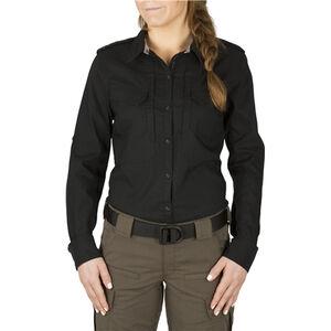 5.11 Tactical Women's Spitfire Shooting Shirt Size Medium Flex-Tac Mosstone 62377