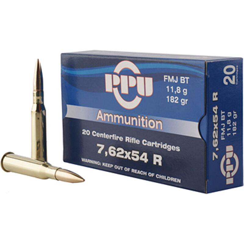 Prvi Partizan PPU 7.62x54R Ammunition 182 Grain FMJBT 2625fps
