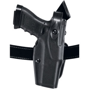 Safariland 6360 ALS SLS Retention Duty Holster for GLOCK 17 and 22, Mid Ride UBL, Right Hand, STX Hi Gloss Black