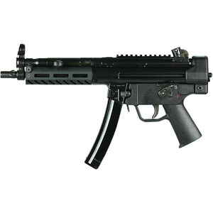"PTR 9C Semi Auto Pistol 9mm Luger 8.9"" Barrel 30 Rounds Aluminum M-LOK Handguard Polymer End Cap with Sling Swivel Black Finish"