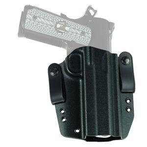 """Galco Corvus Belt Holster Springfield 1911 4"""" Kydex Right Handed Black CVS226"""