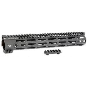 """Midwest Industries AR-15 G3 M-Series M-Lok Handguard 12"""" Aluminum Black MI-G3M12"""