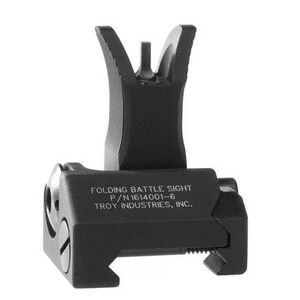 Troy Industries M4 Front Folding Battle Sight Black SSIG-FBS-FMBT-00