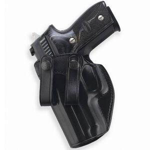Galco Summer Comfort GLOCK 26, 27, 33 Inside Waistband Holster Left Hand Leather Black SUM287B