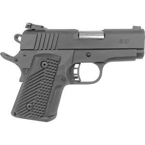 "Rock Island Armory BBR 3.10 Compact 1911 Semi Auto Pistol .45 ACP 3.1"" Barrel 10 Rounds G10 Grip Steel Frame/Slide Parkerized Finish"
