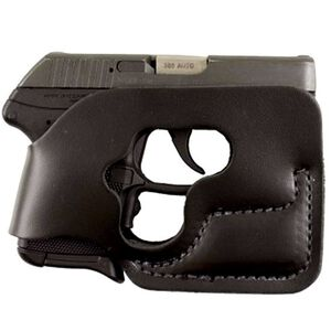 DeSantis Pocket Shot Pocket Holster Ruger LCP With Laser Ambidextrous Leather Black 110BJT7Z0
