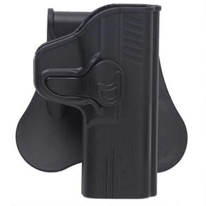 Bulldog Cases RR-Series Paddle Holster S&W .380 Bodyguard Right Hand Polymer Black RR-SWBG