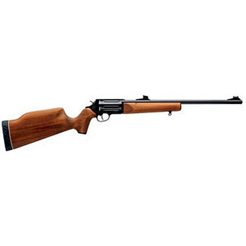 """Rossi Circuit Judge Revolving Rifle .410 Bore and .45 Long Colt 18.5"""" Barrel 5 Rounds Wood Stock Blue Barrel"""