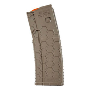 Hexmag Series 2 AR-15 15 Round Magazine/30 Round Body .223 Rem/5.56 NATO/.300 AAC Blackout PolyHex2 Advanced Composite Polymer Flat Dark Earth